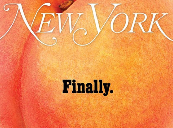 New York Magazine Cheekily Depicts Trump Getting Smashed By Giant Peach On Cover