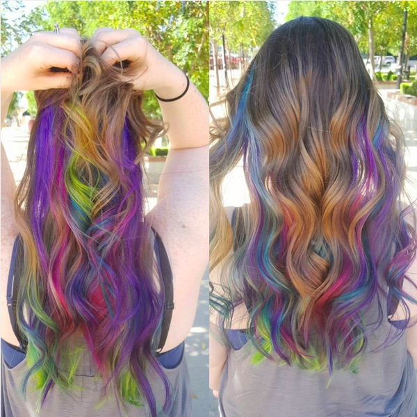 Sensational New Half And Half Hair Trend Lets You Wear Your Hair In Two Hairstyles For Women Draintrainus
