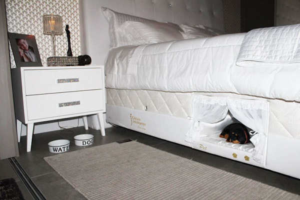 Brazilian Mattress Company Colchão Inteligente Postural Has Created A Bed  For Your Pet Built Right Into Their Human Sized Mattress Set.