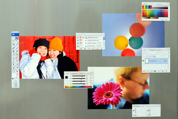For Designers Funny Magnets Make Your Fridge Look Like A Photoshop Software