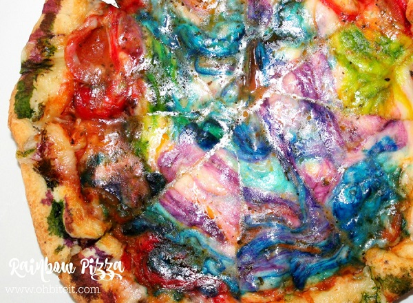 Watch: How To Make Rainbow Pizza At Home - DesignTAXI.com