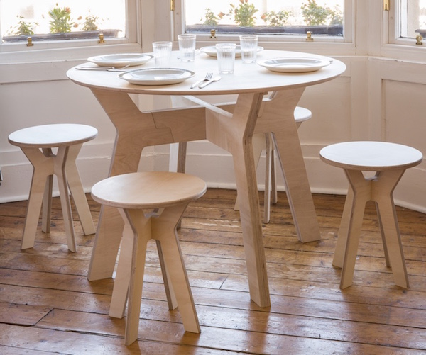 Cheap flat pack furniture Wooden Furniture Scottish Designer Alice Jacobs Has Created The Plyworks Collection That Consists Of beautiful Sustainable And Robust Flat Pack Furniture That Are The Design Tabloid Stylish Minimalist Flat Pack Furniture Designed For The Renting