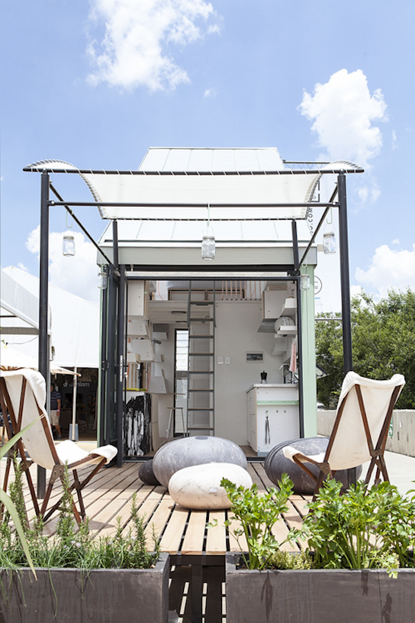 Portable 24 square meter tiny house ships in a box is assembled on site - Thesquare meter tiny house ...