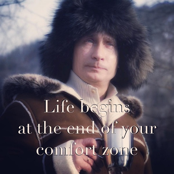 Putinspiration Is A Fledging Instagram Account That Pairs Cheesy Inspirational Sayings With Photographs Of Russian President Vladimir Putin To Hilarious