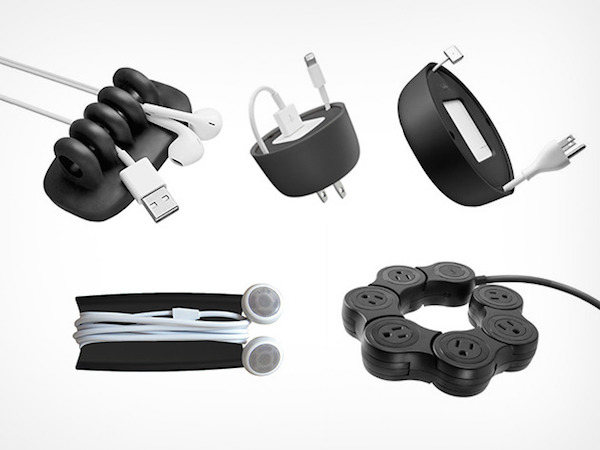 Keep Your Apple Cords Neatly With These Nifty Desktop Organizers