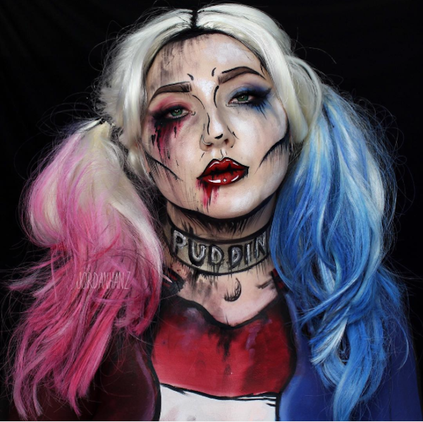 ... we featured makeup artist Jordan Hanz for her whimsical and frightening looks. Now, she is back with a new series of mind-blowing makeup creations.