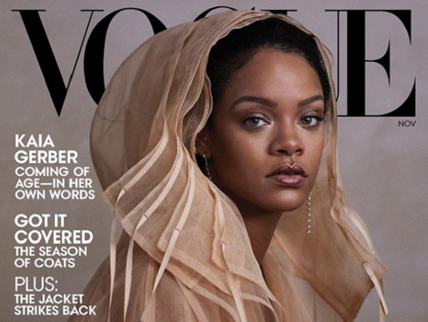 Rihanna Reigns Supreme As She Lands Her Sixth Cover Of Vogue Magazine