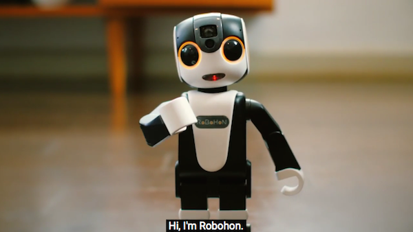 Adorable robot smartphone is a trusty friend that can talk - Robot supreme chef ...