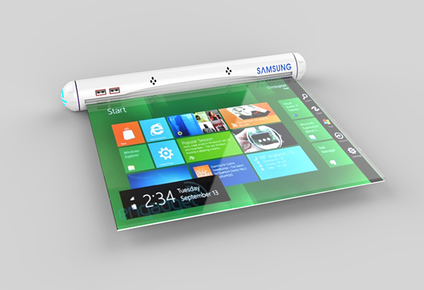 Magnificent Samsungs Scroll Like Concept May Be The Futures Most Download Free Architecture Designs Rallybritishbridgeorg
