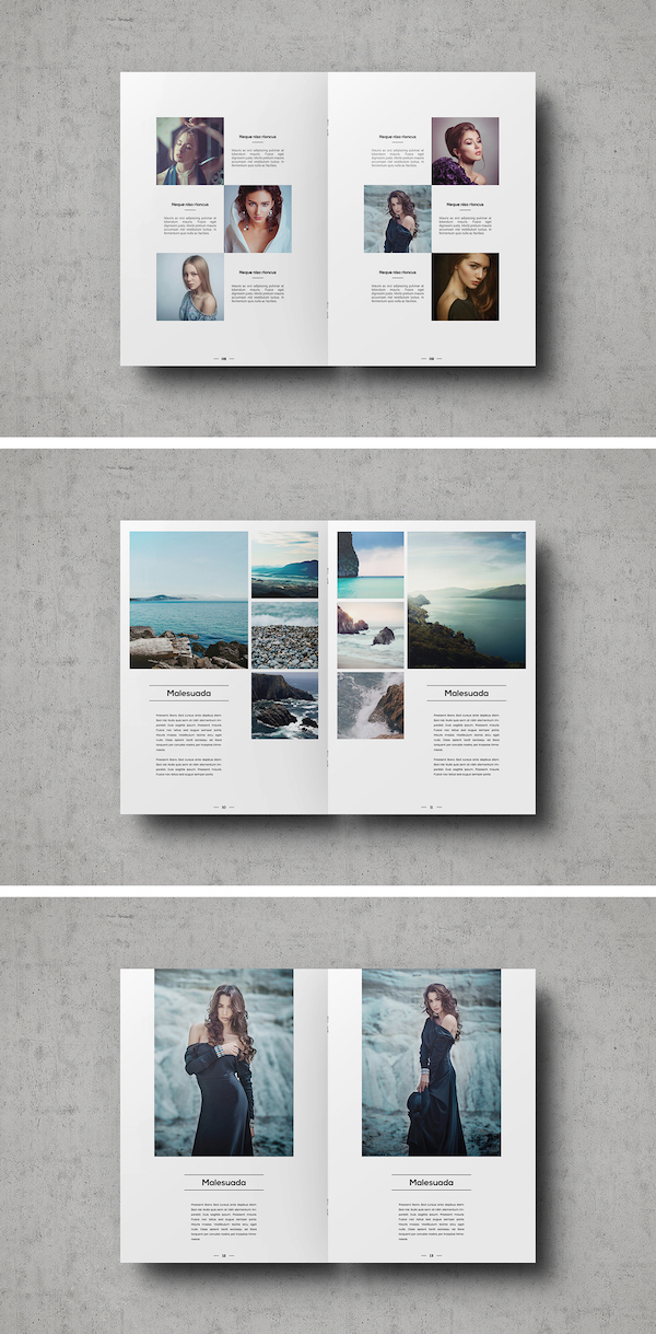 A Clean Image Centric Portfolio Template For Showcasing