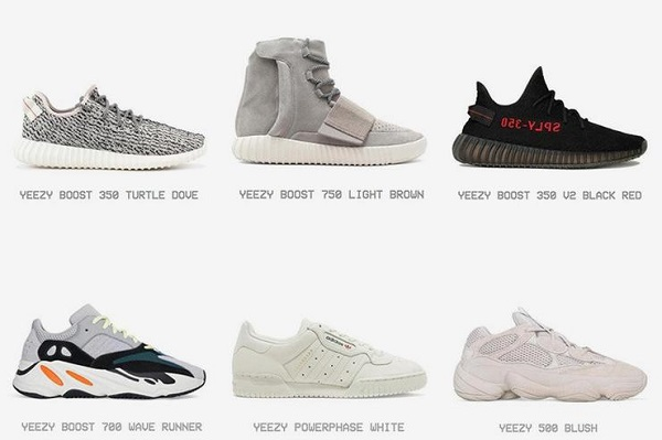 adac40c6f5f8e4 Yeezy Supply Website Features Full Archive Of Kanye West s Signature  Sneakers - DesignTAXI.com