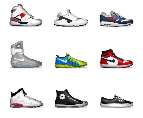 Personalize Your Messages With Sneaker Emojis From Nike