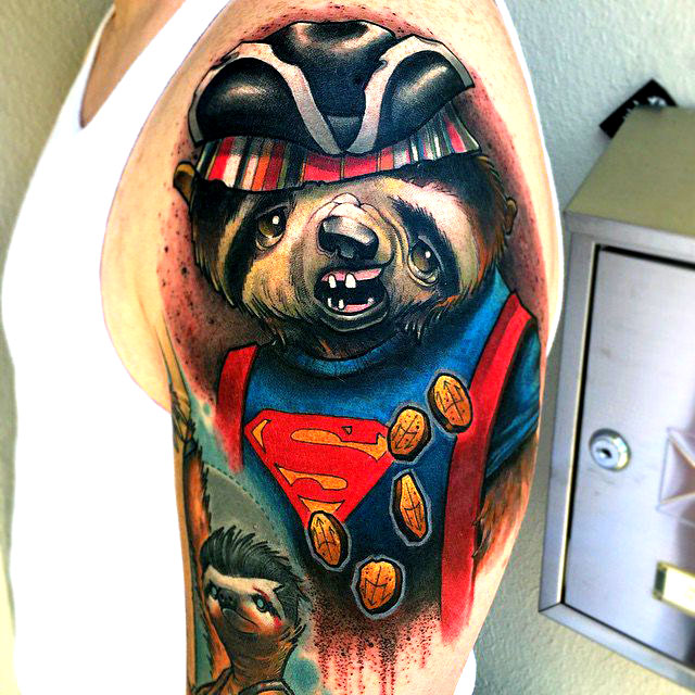 Awesome Tattoos Of Famous 80s Movie Characters Depicted As