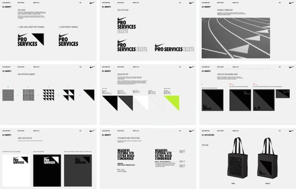 50 beautiful  well executed style guides of nike  apple Margins in Logo Style Guide Style Guide Examples