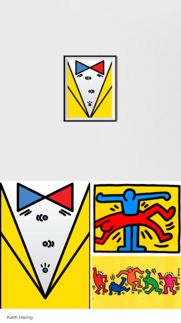 Dapper 'Suit Tie' Posters Inspired By Piet Mondrian, Other Famous Artists