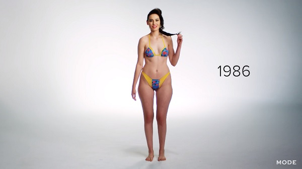 Evolution Of Swimwear Body Paint