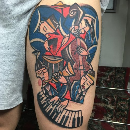 Tattooist Channels Picasso, Translates Style Into Magnificent Works Of Skin Art