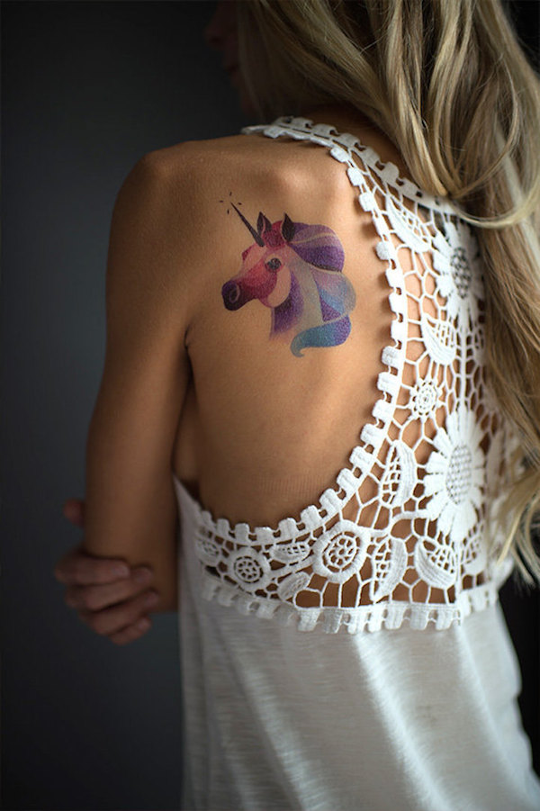 famous tattoo artists create temporary tattoos let you try on their designs. Black Bedroom Furniture Sets. Home Design Ideas