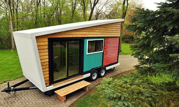 Stylish 140 Square Foot Tiny House Is An Eco Friendly Dream Home On
