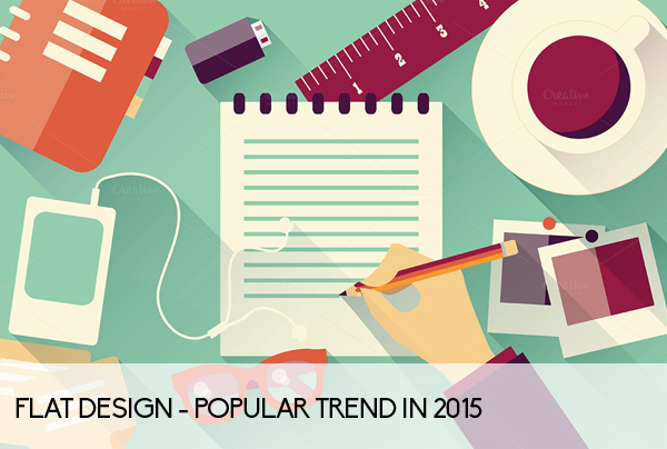 A Round Up Of Popular Graphic Design Trends In 2015