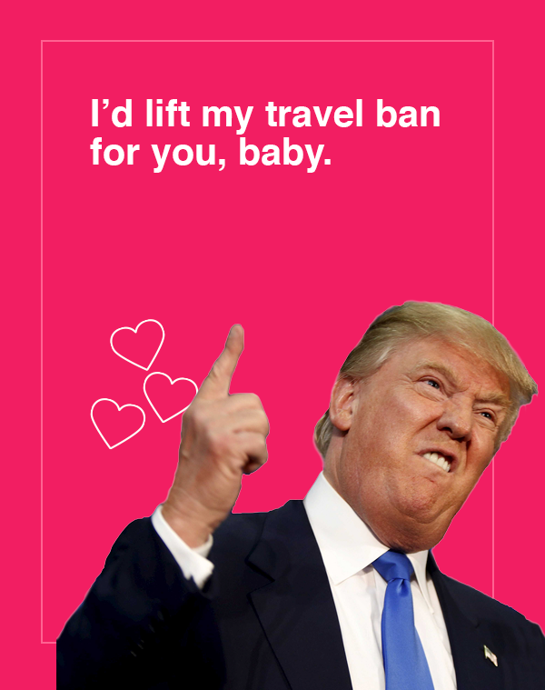 Make Valentines Day Great Again With These TrumpThemed Cards – Make a Valentines Card Online