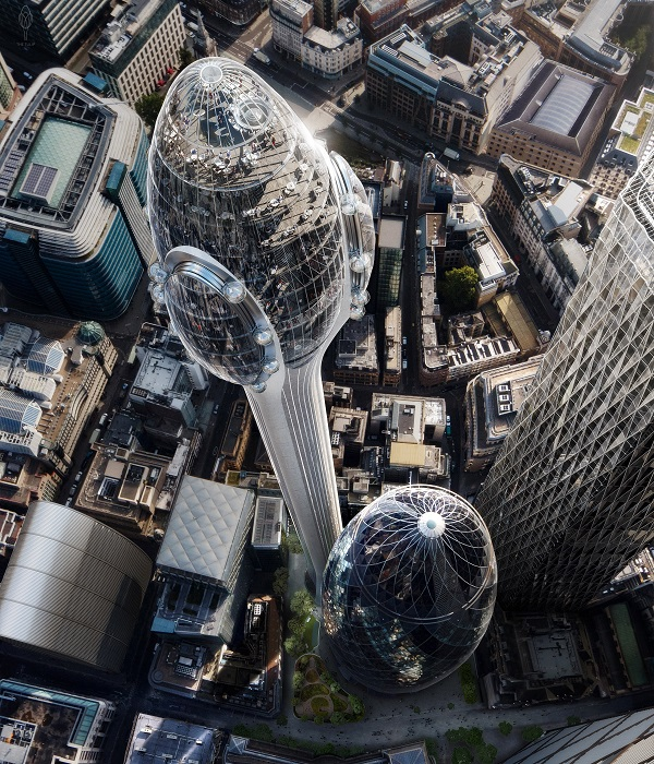 London's New 'Tulip' Skyscraper Gets Likened To A 'Giant Sperm'