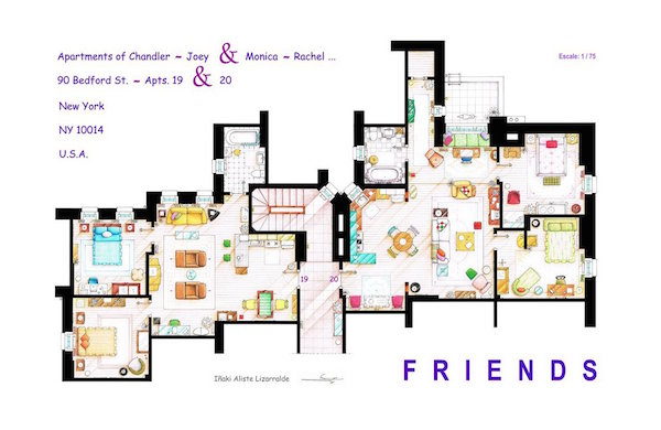 Homes From 'Friends', ' And The City' Translated Into ... on elizabeth homes plans, ryan homes plans, victoria homes plans, jordan homes plans,