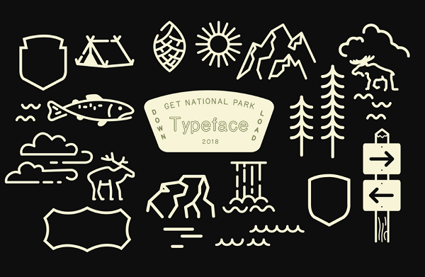 National Parks' Iconic Typeface Gets Digitized For The First Time - DesignTAXI.com