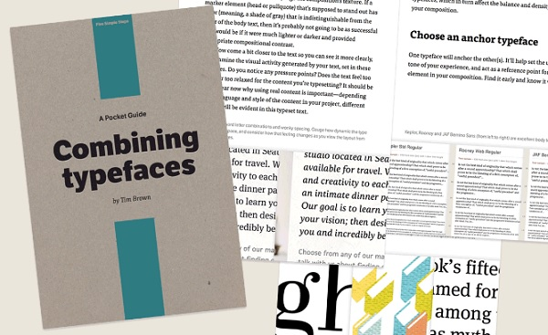 For Designers: The Essential Guide To Combining Typefaces