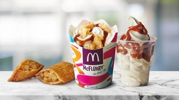 McDonald's 'Apple Pie McFlurry' Fuses Two Of Its Most Iconic Desserts Into One