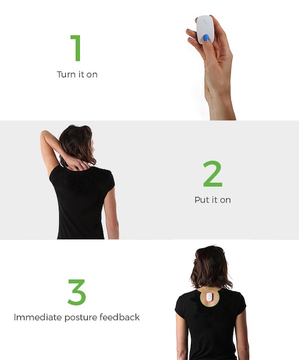 Tiny Wearable Device Corrects Your 'Screen Slouch', Improves Your Posture