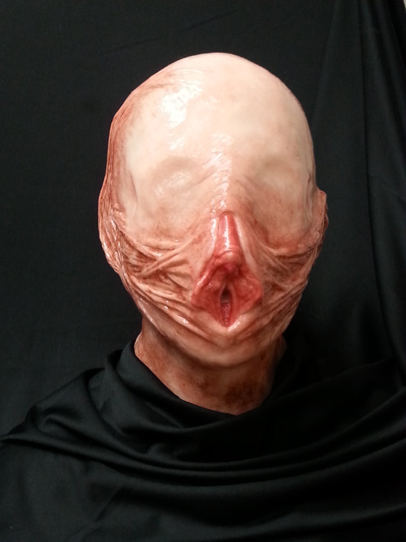 Are you still looking for the perfect costume this Halloween? If you want  something disturbing and scary, try wearing this realistic vagina mask on  your ...
