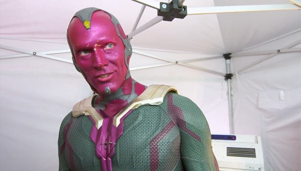 Watch Paul Bettany Transforms Into The Vision In