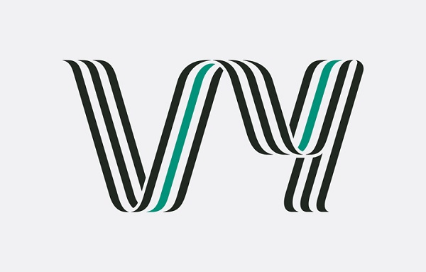 Norwegian State Railways Gets A Retro Ribbon Logo Spelling Its New Name, 'Vy'