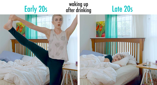 29 Differences Between Life In Your Early 20s Vs. Life In Your Late 20s