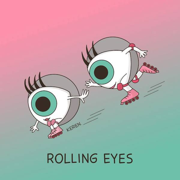 Cute Illustrations That Turn Everyday Words Phrases Into