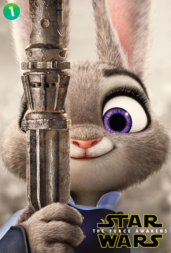 Characters From Disney's 'Zootopia' Spoof The Biggest Movies of 2015