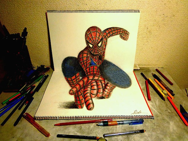 Amazing 3d Drawings That Pop Up From The Pages Of