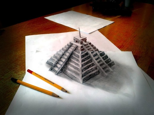how to draw amazing 3d illusion drawings