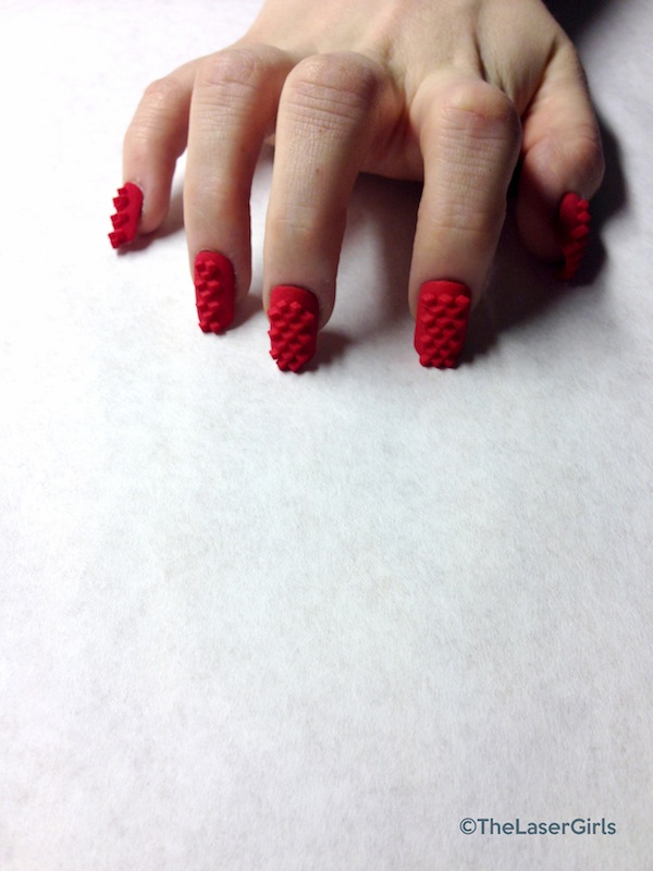 3d Printed Nails by TheLaserGirls