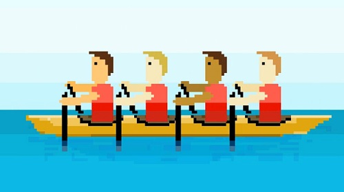 Animated 8 Bit Montage Of The London Olympic Games