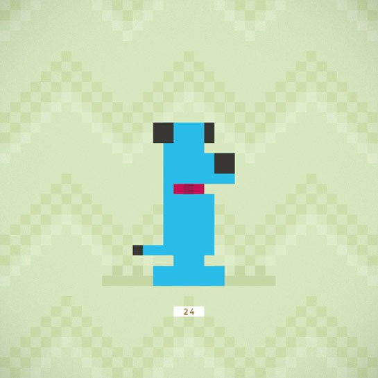 Famous Pop Culture Dogs Illustrated In Retro 8 Bit Pixels