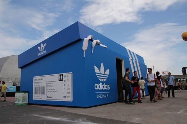 adidas near showroom