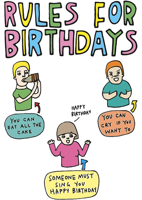 Quirky And Honest Greeting Cards Help Celebrate Special