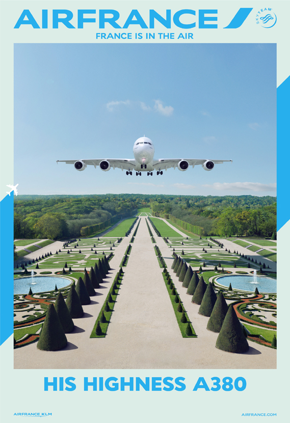 Air France S Stylish Campaign Features Destinations As