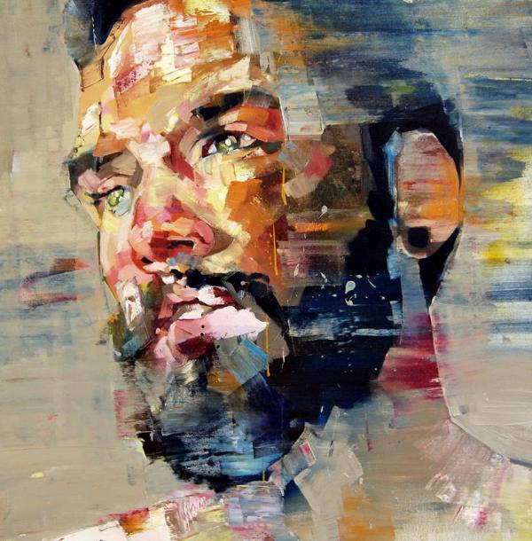 Expressive Paintings Of People Tinged With Raw Emotion And ...