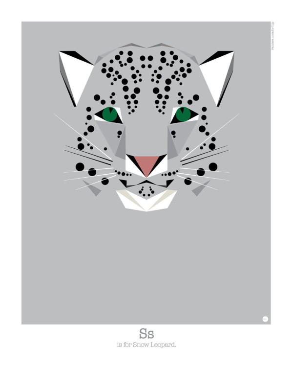 An Alphabet Of Geometry Inspired Animal Portraits Designtaxi Com