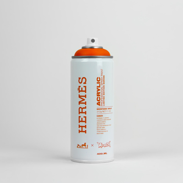 Spray Cans Marked With The Iconic Logos and Colors Of ...