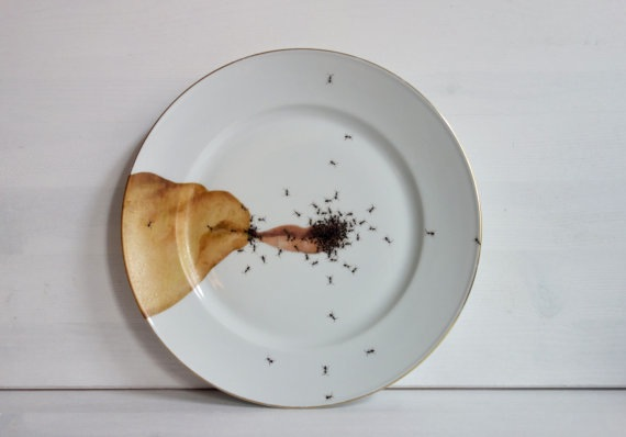 Cringe Worthy Porcelain Plates That Look Like They Are