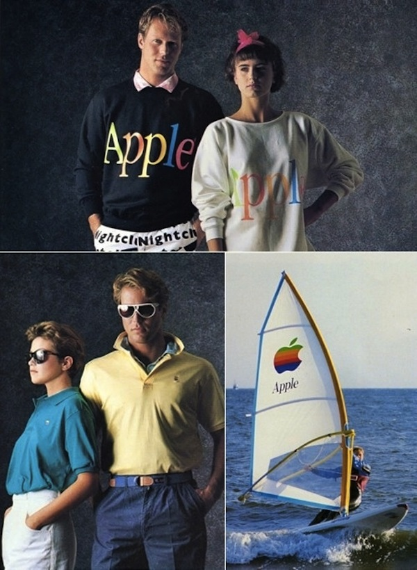 Vintage Apple Ads From The '80s And '90s